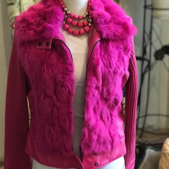 Jackets & Blazers - Hot pink jacket fur 🎀